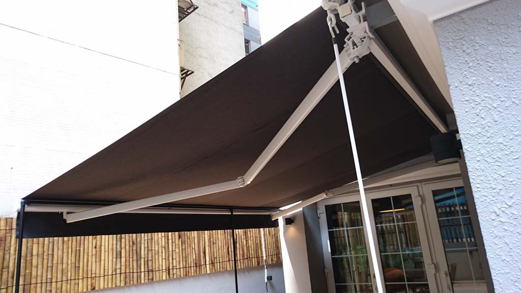 Folding Arms Awning | Deluxe Blind ??? | Hong Kong Windows Covering Specialist | Curtain Blinds u0026 Shades | Awnings u0026 Canvas & Folding Arms Awning | Deluxe Blind ??? | Hong Kong Windows ...